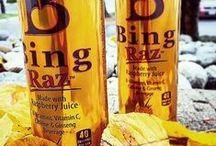 RAZberry Inspirations / Everything raspberry that inspires you, especially BING RAZ, made with raspberry juice!