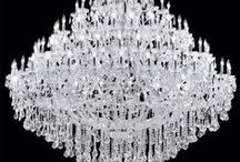 CHANDELIERS / ANTIQUE TO MODERN / by nellie lacanaria viloria
