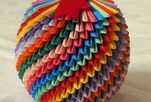 ORIGAMI / JAPANESE TRADITIONAL ART OF PAPER FOLDING.