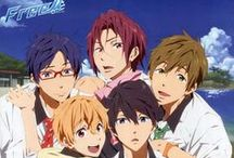 Free! Iwatobi swim club~ / I.LOVE.THIS.ANIME. (not because of the fanservice XD)
