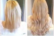 Flip-in hair extensions / Flip-in hairextensions