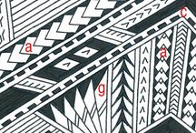 Polinesyan Storns / Art inspired by Polynesian culture