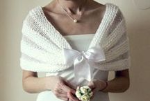 Boleros/Shrugs/Sleeves / knit wedding boleros, evening shrugs, effect boleros handmade by NastiaDi