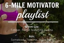 Workout Playlists / Music to keep you motivated