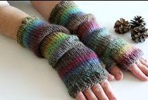 Arm Warmers/Mittens/Gloves / knitting mittens, knit fingerless gloves, knit arm warmers handmade by NastiaDi.