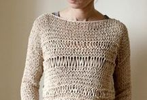 Sweaters/Pullovers / hand knitted sweaters