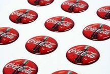 Circle Shaped Domed Stickers / Labels / Choose our round shaped domed labels suits your brand to the best.