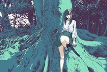 Anime Illustrations