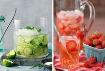 Healthy Drinks / Hydrating Drinks, Healthy Smoothies and Detoxifying Infused Water