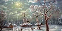 Winter ❄️☃️ ☃️ ❄️☁️ ☂️☄☔