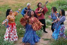 Roma/Gypsy: modern artists