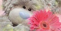 Cute teddy bears ❤️ ❣️♕ ♛ ღ♥️ ✴️❥