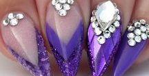 Nail design  ♥️♌ ♍ ♎ ❤️ ❣️ ♕ ♛ ❥ ツ ღ ☻