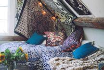 Bohemian bedrooms