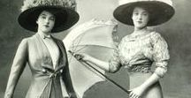 Historical Clothing, early 1900's ❤❁❥♕☀❣
