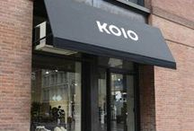 Koio Sneaker Gallery / Come visit us at The Koio Sneaker Gallery, an experiential retail concept allowing our community to see the entire collection in a new way. It is our home for innovation, collaboration, and community. 199 Lafayette St (at Broome). New York, NY 10012