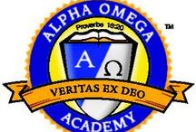 Alpha Omega Academy / AOA is an accredited online academy for grades K-12, with thousands of students enrolled worldwide. Choose from over one hundred Christian courses, find qualified teachers, and receive complete parent and student support with us!  / by Alpha Omega Publications Homeschool