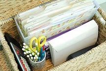 Organizing Made Easy / Need help organizing that closet? Want some good ideas to keep your home office tidy? Kids clutter taking over? Keep an eye on this board.
