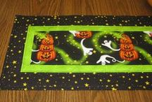 Quilting - Halloween Table Runners