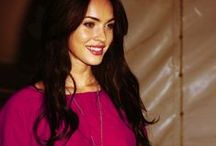 Megan Fox / For me, one of the most beautiful women in the world.