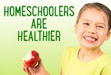 Healthy Homeschooling in the New Year / Tips for #homeschool kids to stay healthy!