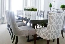 Fantastic dining rooms.