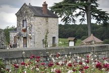 """My French Dream / My """" One day..."""" Would be to own a simple stone farmhouse in the French countryside."""