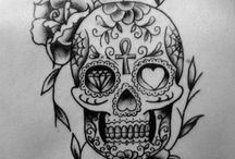 Tattoos / Love skulls but this one is the best one I've ever seen so fare