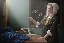 photorealism / Btw, Vermeer's paintings might be 350 year-old color photographs.