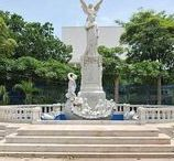 Let's go to: Managua / Managua, Nicaragua's capital since 1852, is located on the shores of Lake Xolotán // Managua, la capital de Nicaragua desde 1852, se ubica a orillas del lago Xolotán.