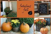 Fabulous Fall Ideas / My favorite fall season ideas.