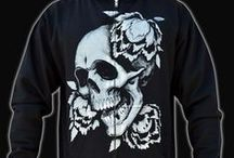 Men's Clothing / Must have men's alternative, metal, gothic, macabre, art inspired clothing from Macabre Couture!
