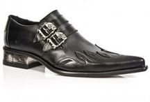 Men's Shoes / Amazing men's alternative, metal, steampunk and gothic inspired shoes, available through Macabre Couture.