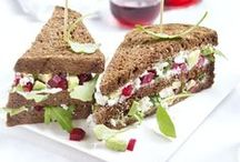 Clubsandwiches / Heerlijke clubsandwich ideeën! Kijk http://www.brood.net/recepten hoe je ze maakt!