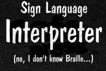 ASL/Interpreting