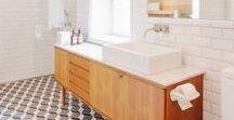 BAÑO / En este tablero pineamos los baños que nos gustaría tener en casa y de paso nos inspiran para mejorar.