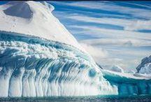 Antarctique - Antarctica / Appelé le Continent Blanc, l'Antarctique fascine par ses paysages montagneux spectaculaires, ses majestueux icebergs et ses quelques millions d'animaux… - Known as the White Continent, Antarctica fascinates with its spectacular mountain scenery, majestic icebergs and millions of animals.