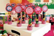 Desenho em festa / Criando festas especiais