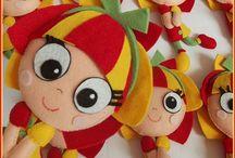 Muñecas y peluches. / Elaboración de peluches y muñecas