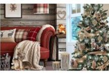 Christmas in the Woods / Into the Woods // Inspired by the rustic charm of Christmas Cabins