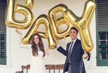 Pregnancy and Gender Reveal / Fun and creative ways to celebrate a special announcement!