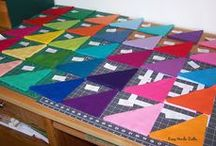 AccuQuilt Projects / Quilting projects I've cut with my AccuQuilt Go!  I love it!  It is worth the price.  http://bitly.com/AccuQuiltGo