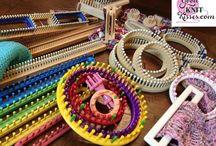 Loom Knitting & Crochet