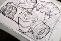 Industrial Design Sketches / Inspirational industrial design hand sketches