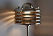 Retro Lamps / A collection of retro design lamps. The should be vintage, modern antiques lamps, old industrial lamps, or even modern lamps with a retro style. #retro #vintage #design #lamps