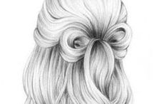 Hair : Tips & How To's / ................................................... Please feel free to pin as many pins as you like! ............................................... My Flickr: https://www.flickr.com/photos/63651986@N03/