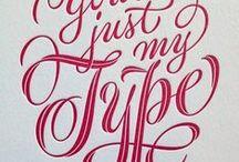 Typography ~ Swashes