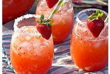 Summer Punches / Delicious tipples for summertime drinks.