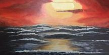 Landscape & Seascape Paintings / Landscape paintings (acrylic, oil or watercolors) all artists welcome to share their work. Please keep this board landscape and seascapes paintings only. Please comment on any of my pins for an invite. Board open for any collaborators to send out invites