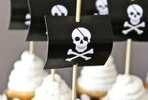 Pirates / We're celebrating Pirate Week in celebration of our Hidden Gems themed National Reading Month celebration! Here's just some ideas of how to amp up your pirate celebrations! :)